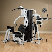 Body-solid's exm3000lps is easily the best home gym with leg press you can get