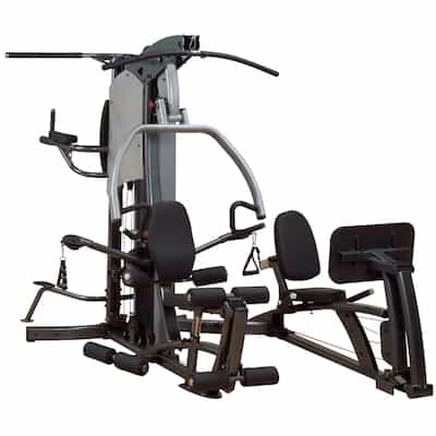 The Fusion 500lps is one of the better home gyms with leg press stations