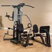 The Fusion 500 multi station home gym with leg press attachment
