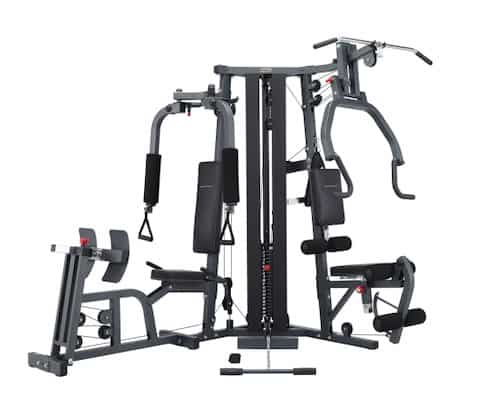 The galeno Pro from bodycraft is one of the best home gyms with leg press stations available