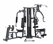 Bodycraft's Galeno Pro is up there with the best home gyms with leg press stations