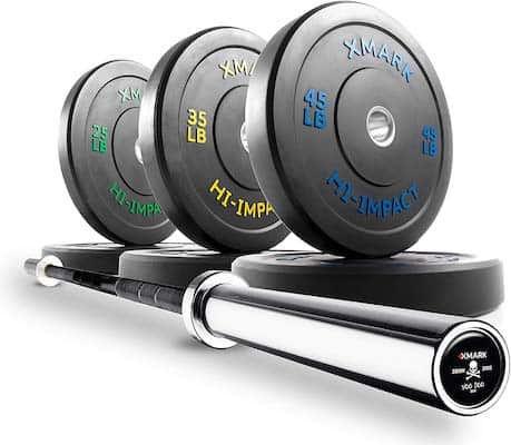 The Voodoo package is one of the best olympic weight sets available