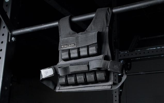 Box's weighted vest is easily the best weight vest you can get at the moment