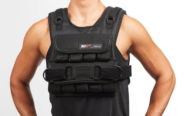 Mir are a market leader in weighted vests and their short adjustable weight vest is one of the best weighted training vests going