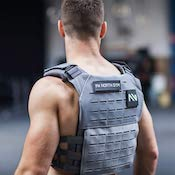 This plate carrier from north gym is great quality and good value as a weighted vest.
