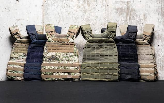 5.11' tactec plate carrier is the gold standard for weighted vests for crossfit