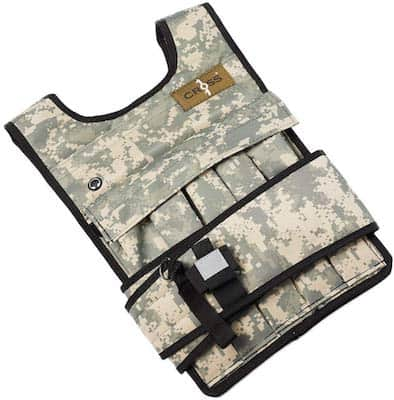 Camo colores CROSS101 weighted vest