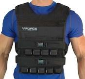 V-Force's weighted vest is a superb option for crossfit