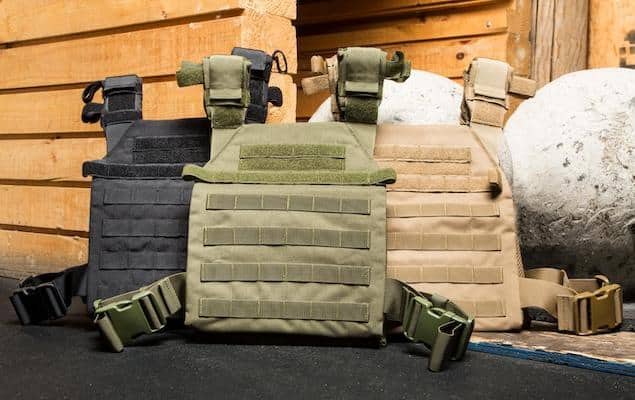 Condor's sentry plate carrier is a good budget weighted vest for crossfit