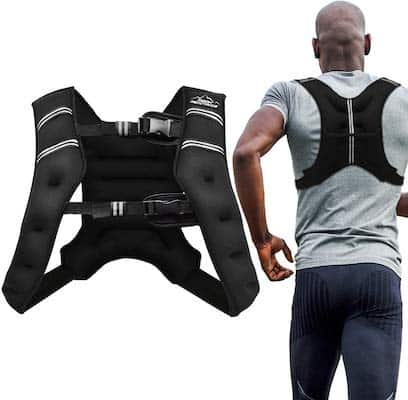 Aduro Sport's smaller and lighter weighted vest is a solid option for runners or walkers who are short on budget