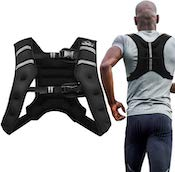 This vest from Aduro Sport is surely a great budget weighted vest for walking or running