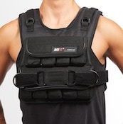 Mir's shorter weighted vest is a great option if you ewant to add a weighted training vest to your running or walking program
