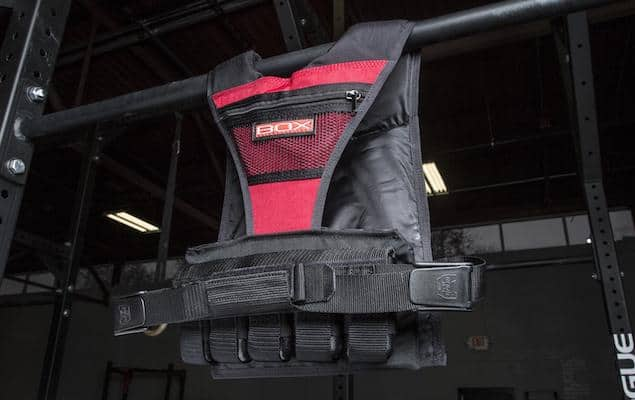 Box's weighted vest for women is one of the best on the market