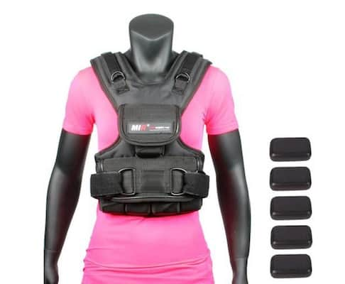 MIR are renowned for their weight vests and this is one of the best weighted training vests specifically designed for women