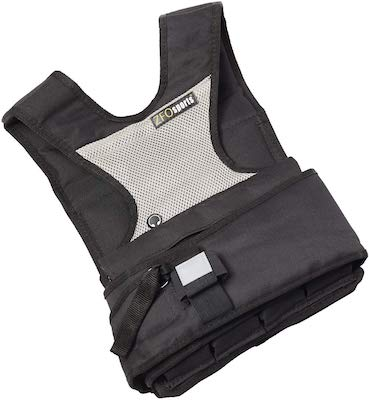 ZFO's 30 lbs weighted vest is made with women in mind