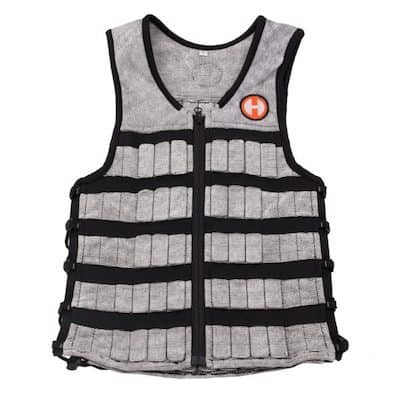 Hyperwear's HyperVests are top quality, and easily the best slim weighted vests currently on the market