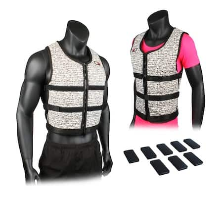 MIR super sli weighted vests is a great value option