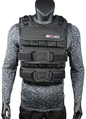 MIR are known for their weight training vests, and their pro vest is a great option for bodyweight training
