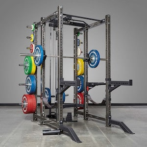 The Rep PR-4000 power rack is a great alternative to the R-3 in that it can be customized to the hilt