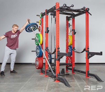 Consider the rep fitness pr-4000 power cage if you're looking for something you can create to be uniquely yours