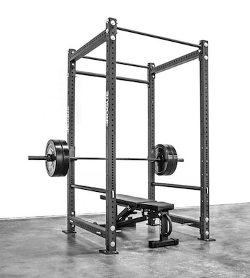 Rogue's RML-490 power rack is easily the best power rack on the market