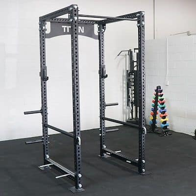 Titan Fitness' TITAN series power rack is a great alernative to the others