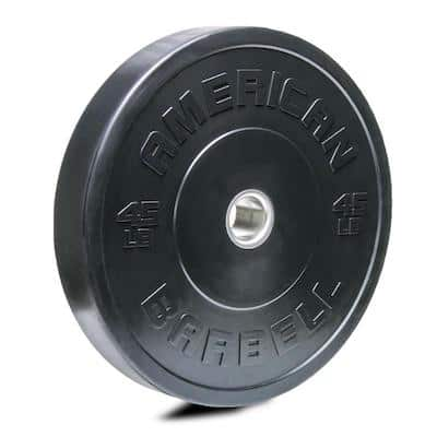 American Barbell have their black sport bumpers which are another worthy budget bumper plate option