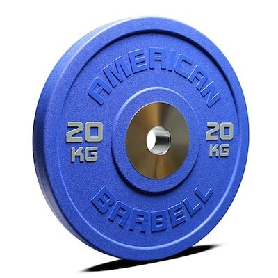 American Barbell's urethane color bumpers are supreme. They're the best bumper plates on the market