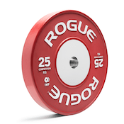 These color training bumpers from Rogue Fitness are great bumper plates