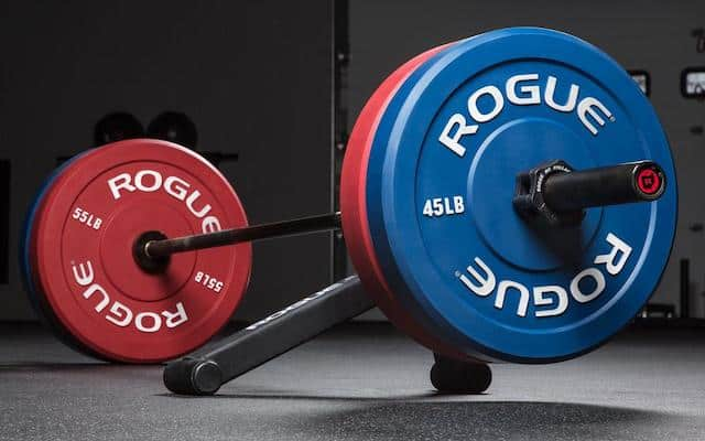 The Rogue Echo Color bumpers are also great bumper plates
