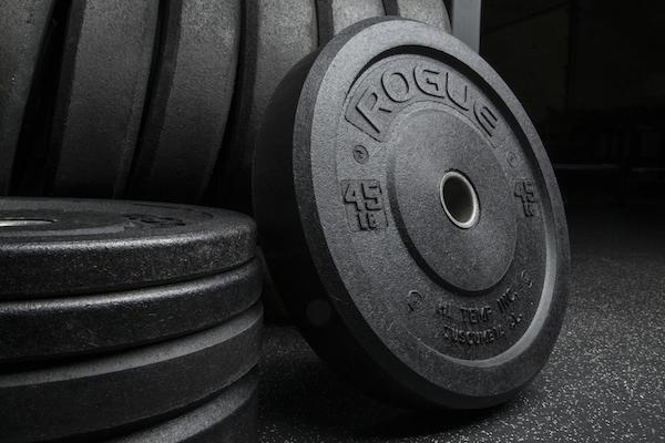Rogue's Hi Temp bumpers are the best black bumper plates you can get