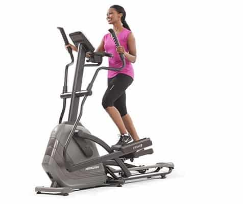 The Horizon Evolve series of ellipticals are the best folding ellipticals on the market