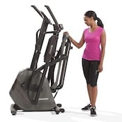 The Evolve series from Horizon are the top folding elliptical machines