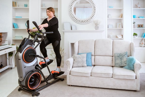 A good, compact elliptical is perfect for an apartment