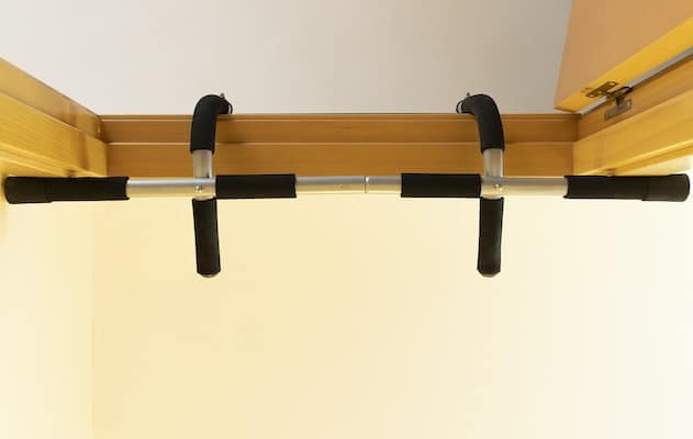 Doorway pullup bars are great for apartments