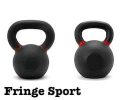 Fringe sport have great kettlebells for apartments and small spaces
