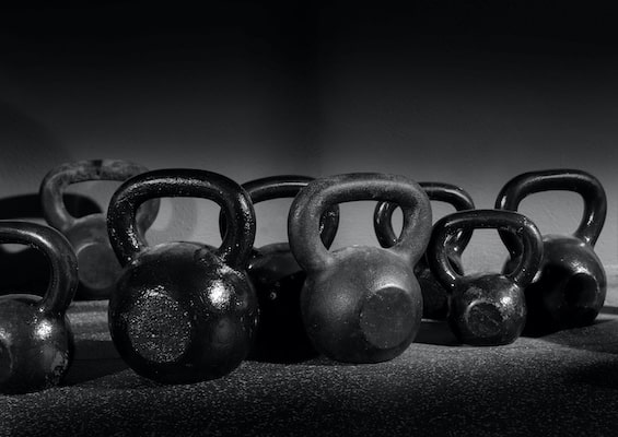 Best exercise equipment for apartments and small spaces - Kettlebells