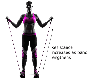 Resistance bands are great exercise equipment for apartments and small spaces because they're compact, safe, and effective
