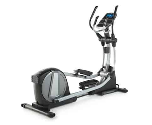The nordictrack spacesaver series are great folding ellipticals