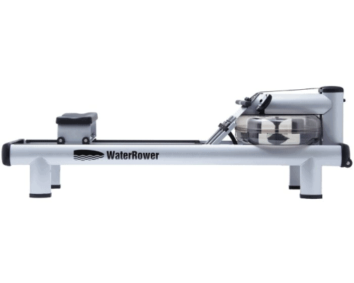 The m1 hirise rower is a commercial quality rowing machine