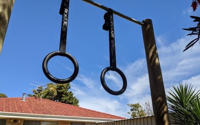 Rogue's steel gymnastic rings are the product that started it all for this Ohio based company