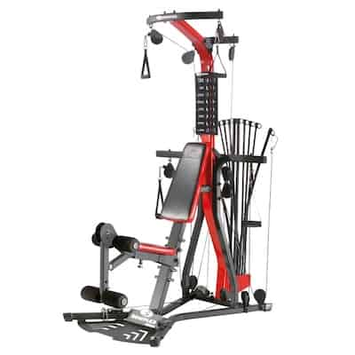 The bowflex pr3000 is one of the best home gyms under $1000