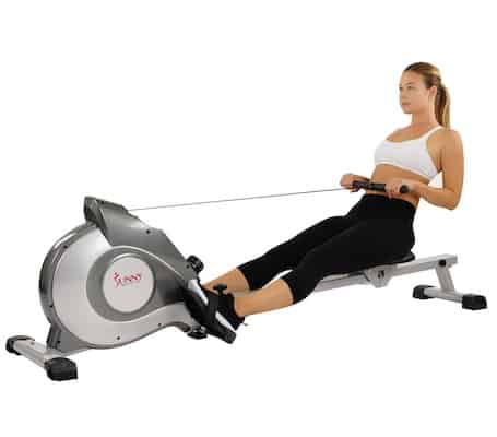 The Sunny Health & Fitness SF-RW5515 Magnetic Rowing Machine is one of the Best rowing machine under $300