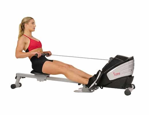 The Sunny Health & Fitness SF-RW5622 Dual Function Magnetic Rower is one of the Best rowing machines for under $300