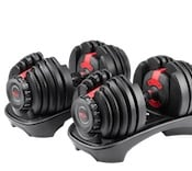 Bowflex's selecttech 552 dumbbells are another great option for affordable dumbbells