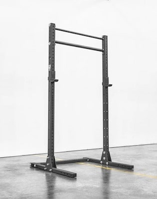 The SML-2 from rogue is the best squat rack with pull up bar