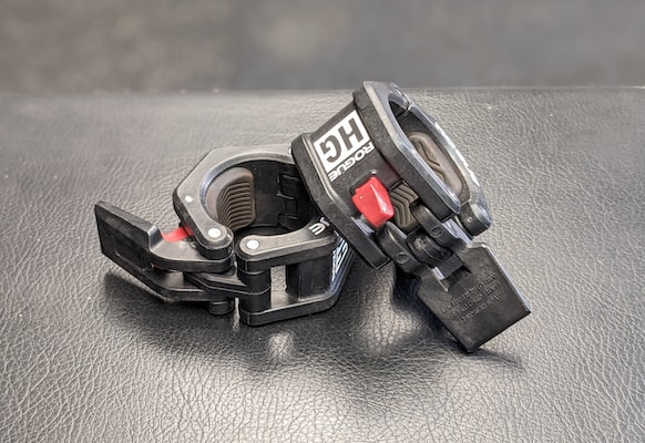 Rogue's HG collars are easily the best barbell clamps in the business