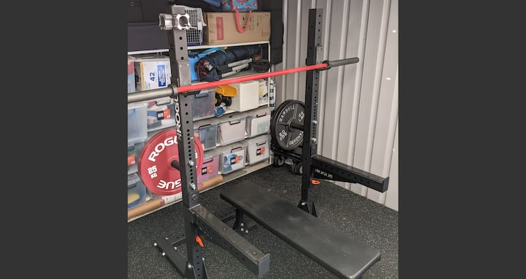 Rogue's SML series squat racks are the best squat racks money can buy at the moment