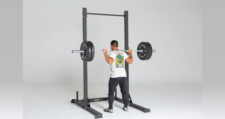 The Rep V2 squat rack is a great value option and alternative to the SML series if you want more bang for your buck