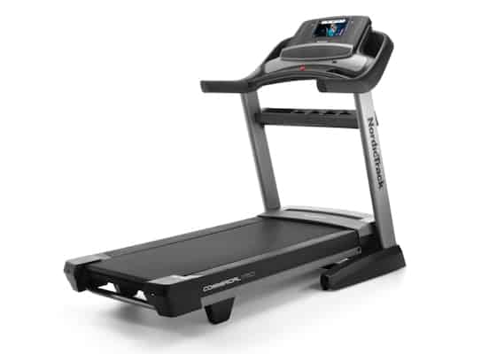 Black and grey nordictrack commercial 17650 series best treadmill